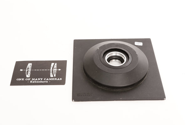 Sinar Lens Board with Aperture Blades