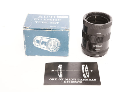 Seimax M42 Extension Tube Set with 11mm 20mm 30mm