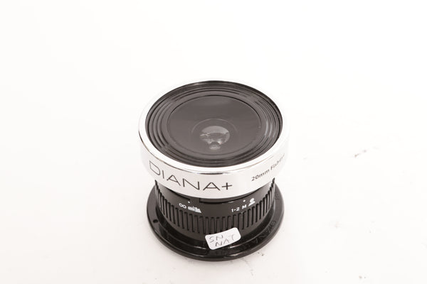 Lomography Diana+ 20mm FISHEYE lens for Nikon F