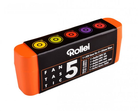 Rollei Fantastic 5 | Black & White Film Bundle 135-36