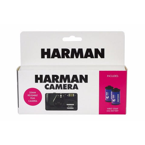 Harman Camera with 2 x Kentmere Pan 400
