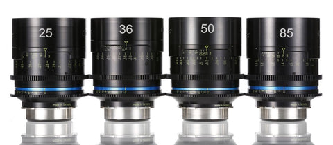 Celere HS set 18.5mm - 24mm - 36mm - 50mm - 85mm T1.5 - PL mount - Rental Only