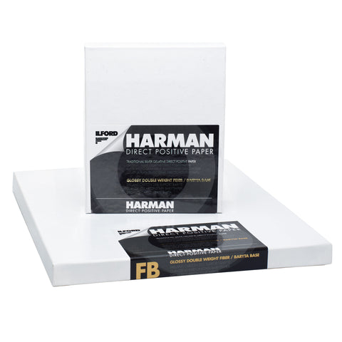 Ilford Harman Direct Positive Paper 8x10 - 25 sheets
