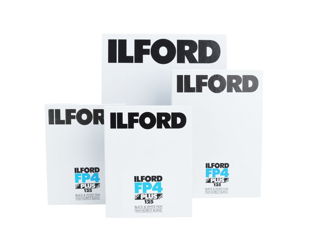 Ilford FP4 Plus 8x10 25 sheets