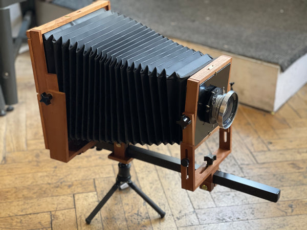 Bender 8x10 View Camera - assembled March 2021