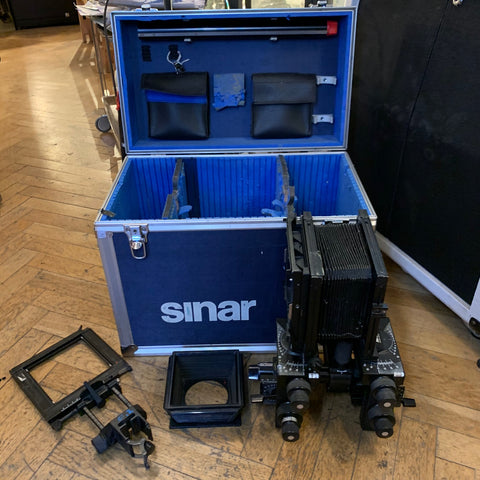 Sinar P2 4x5 with case