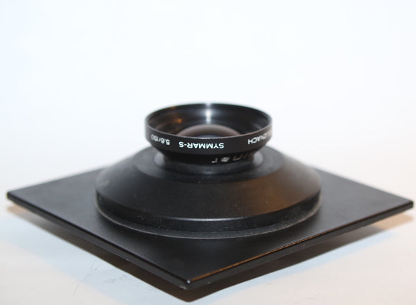 Schneider 150mm f5.6 Symmar-S MC on Sinar DB board