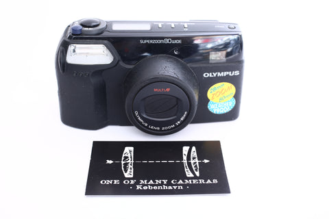 Olympus SuperZoom 80 Wide with 28-80mm
