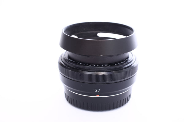 Fuji XF 27mm f2.8 with box