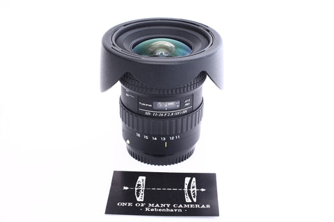 Tokina 11-16mm f2.8 AT-X Pro SD IF DZ with hood BH-77A - for Canon