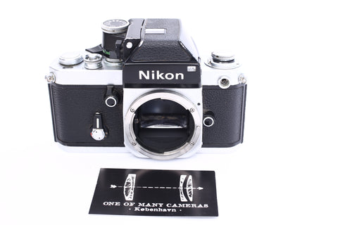 Nikon F2 with DP-1 Photomic prism