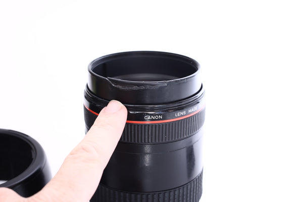 Canon EF 28-80mm f2.8 L with hood ES-79II
