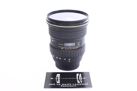 Tokina 12-24mm f4 AT-X Pro SD IF DX - For Canon