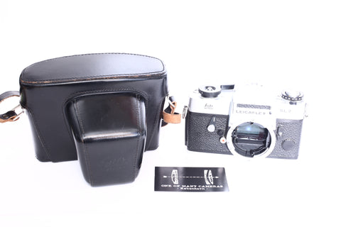 Leicaflex SL2 with leather case