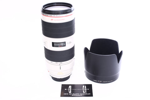 Canon EF 70-200mm f2.8 L IS II USM with Hood ET-87