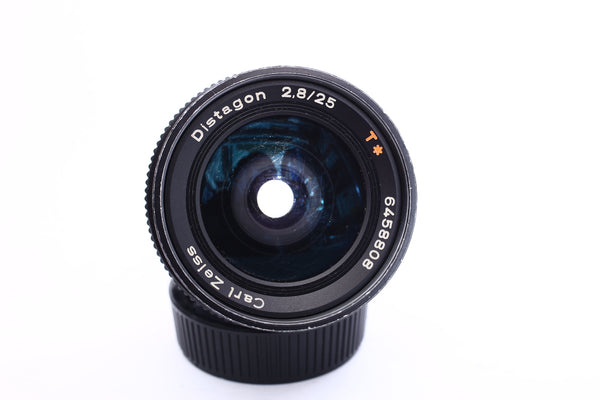 Zeiss 25mm f2.8 Distagon - Contax Yashica