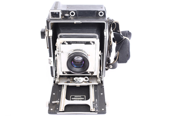 Graflex 4x5 Crown Graphic with 135mm f5.6 Rodenstock Sironar