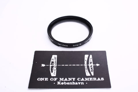 Hasselblad Carl Zeiss Bayonet B57 Softar III Filter