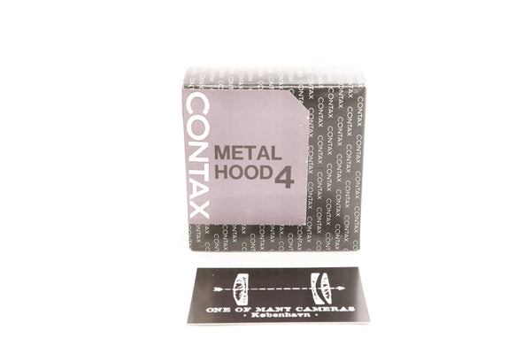 Contax Metal Hood 4 - NEW IN BOX