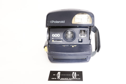 Polaroid 600 Blue