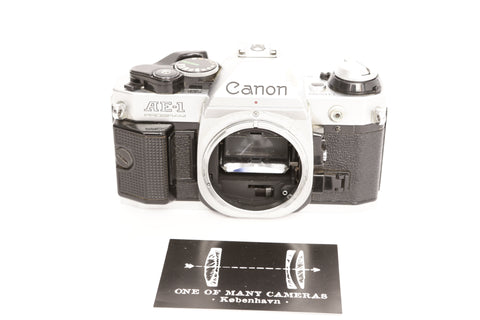 Canon AE-1 Silver Program
