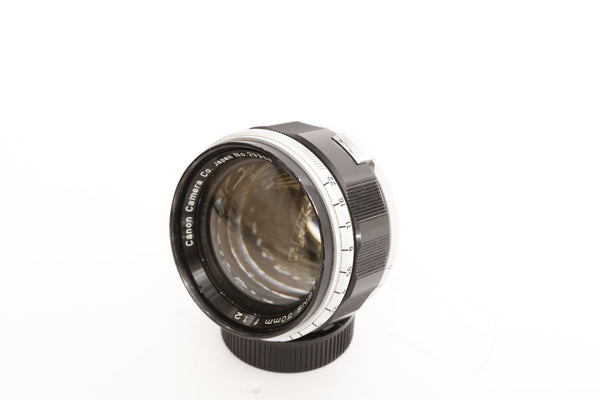 Canon 50mm f1.2 for Leica screw mount