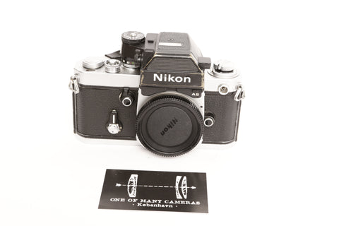 Nikon F2 with F2as Photomic prism