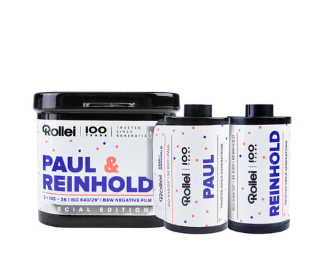 Rollei 100 Years - Paul & Reinhold - ISO 640 2-pack