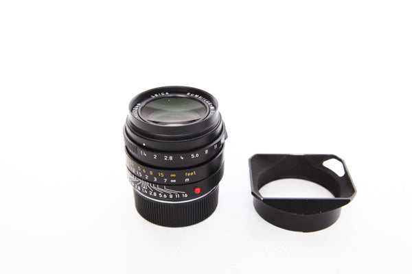 Leica 35mm f1.4 Summilux-M ASPH FLE with hood 12465