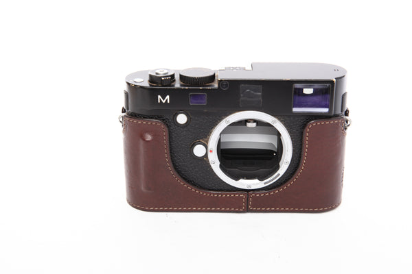 Gariz XS-CHLCM leather half case for Leica M240