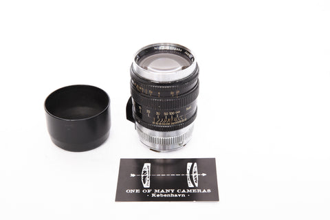 Nikon 105mm f2.5 Nikkor-P - Leica screw mount