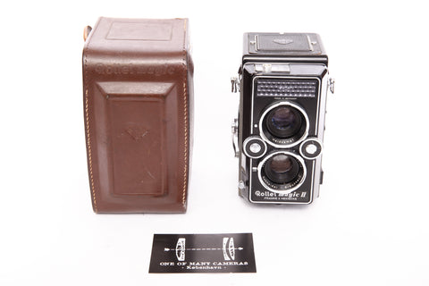 Rolleiflex Rolleimatic II with 75mm f3.5 Xenar