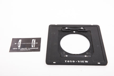 Toyo Lens Board Adapter - Linhof Technika IV