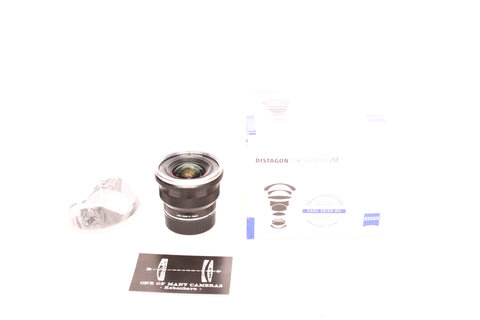 Zeiss ZM 18mm f4 Distagon - with Hood and box