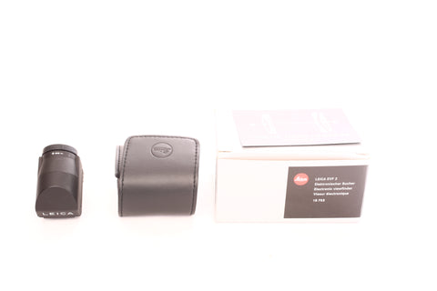 Leica EVF 2 Electronic viewfinder 18753 w. box and pouch