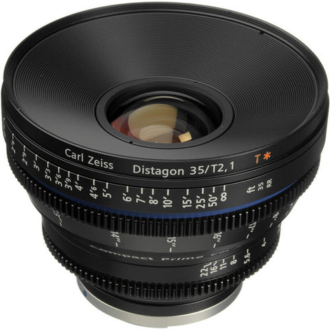 ZEISS CP.2 35mm T2.1 Cine Lens - EF/PL Mount - Rental Only
