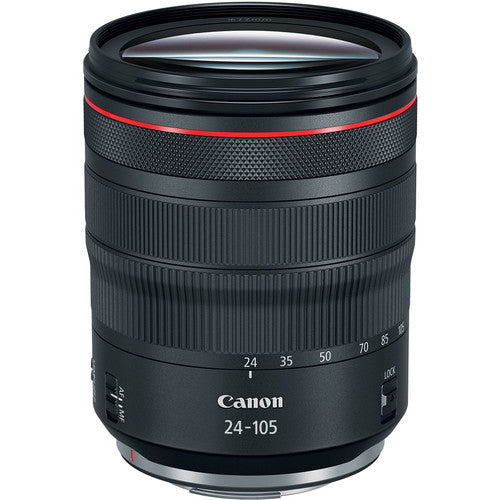Canon RF 24-105mm f4 L IS USM - Rental Only