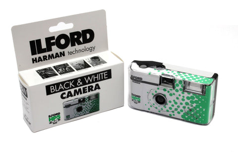 Ilford B&W 35mm Single Use Camera with XP2 400