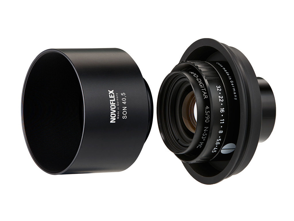 NOVOFLEX SCHNEIDER 90MM F4.5 FOR BALPRO/TS