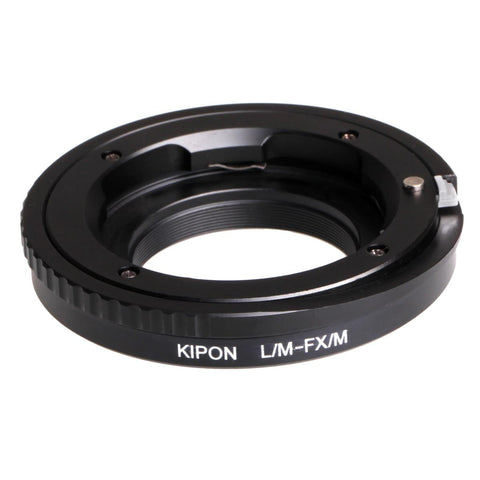 Kipon Adapter for Fuji X Body Leica/M-FX M (W Helivoid)