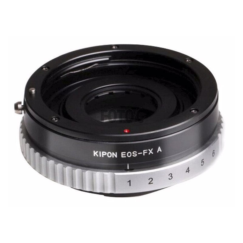 Kipon Adapter EOS-FX A - with Aperture ring