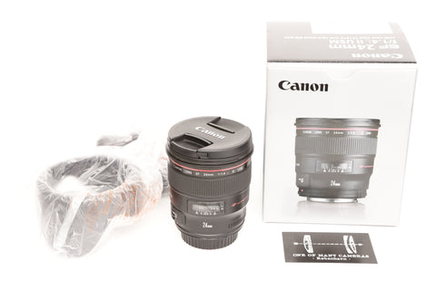 Canon EF 24mm f1.4 L II USM with hood EW-83K - LIKE NEW