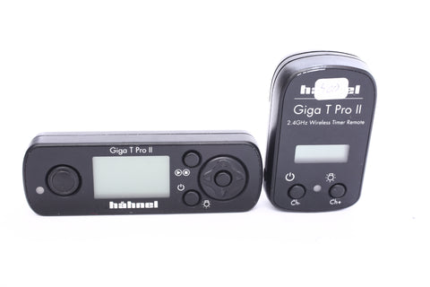 Hahnel Giga T Pro II Wireless Remote Control with Timer and Time Lapse for Canon