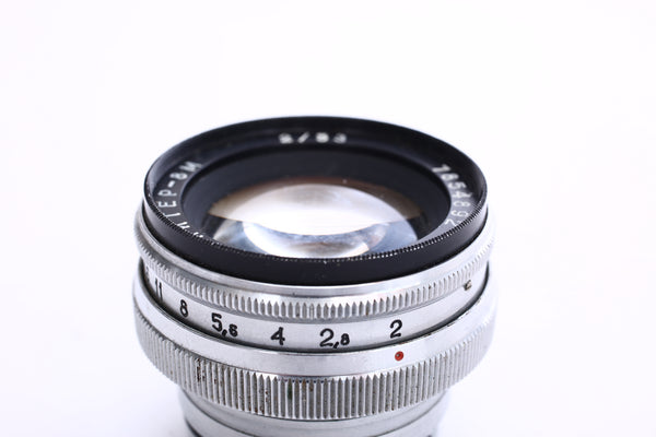 Jupiter 8M 50mm f2 Contax RF mount