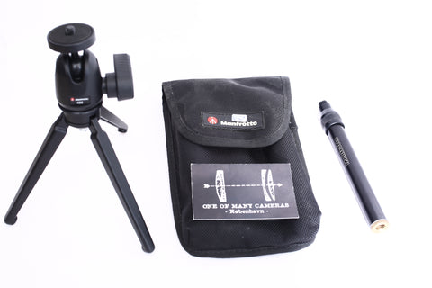 Manfrotto 209,492 Long Table Tripod Kit with Camera Head 492 Long Load 2 KG Ball