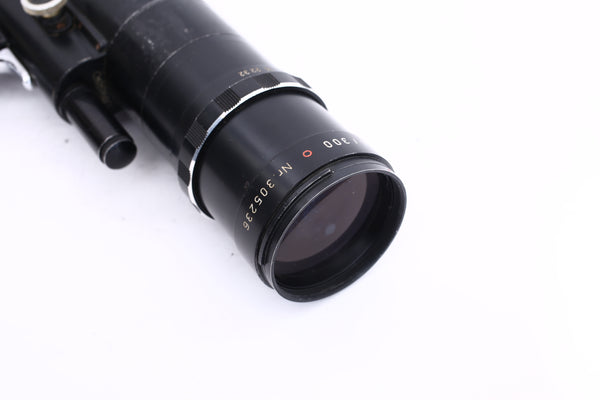 Novoflex 300mm f5.6 Noflexar in Leica M mount