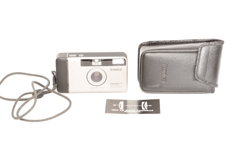 Konica Big Mini HG with 35mm f3.5 and pouch