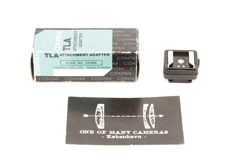 Contax TLA attachment adapter