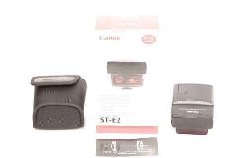 Canon ST-E2 Speedlite transmitter with box