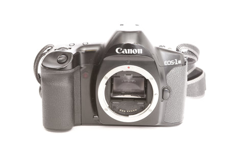 Canon EOS-1 N with PB-E1